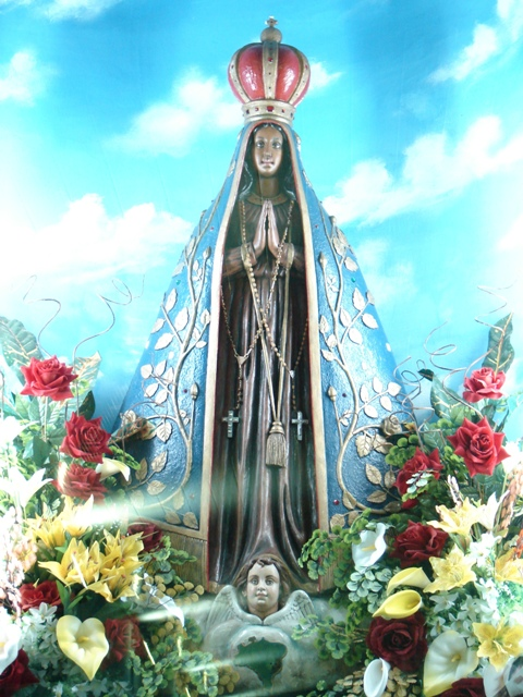 Nossa Senhora Aparecida História Azul